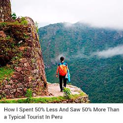 Inca trail hike Peru Hop