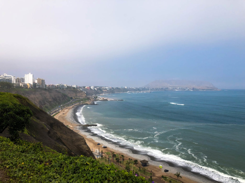Malecon Miraflores Lima Peru South America