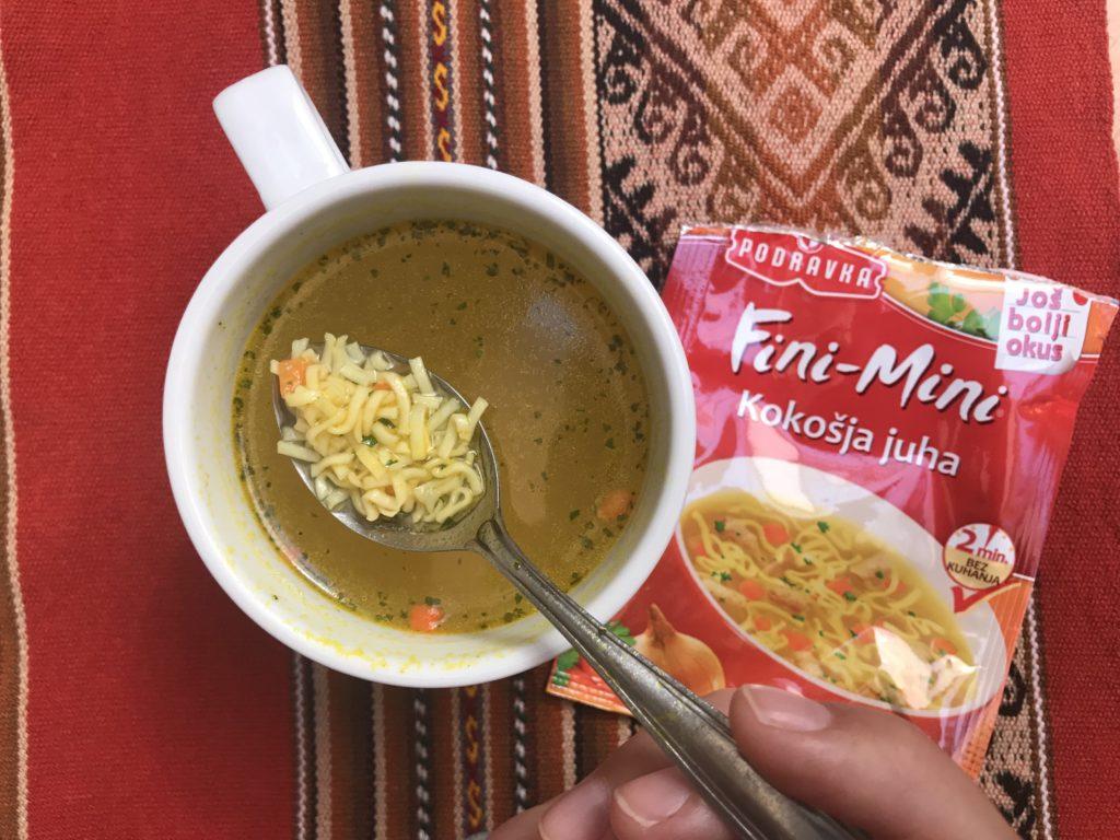 Podravka soup South America