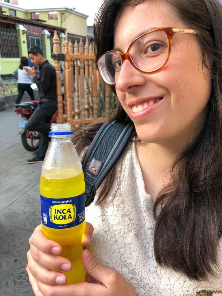 Inca Cola snack Lima Peru South America Vanja Vodenik