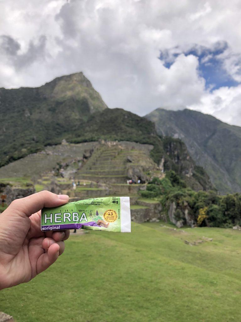 Herba mint Šumi Žito Machu Picchu Cusco Peru South America