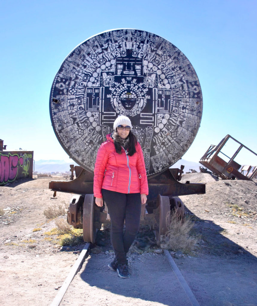 El cementerio de trenes train cementery Salar de Uyuni salt flats and Reserva Nacional de Fauna Andina Eduardo Avaroa tour Bolivia South America Vanja Vodenik