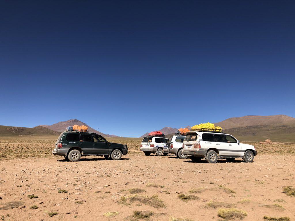 Valle de rocas Reserva Nacional de Fauna Andina Eduardo Avaroa Uyuni Bolivia South America