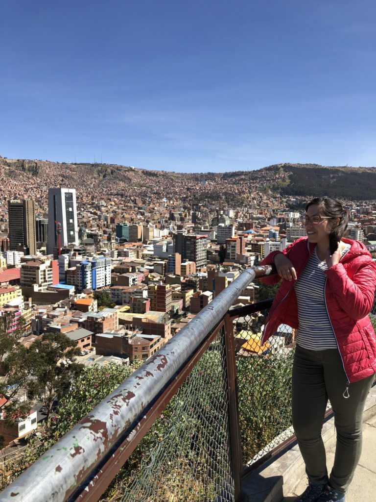 viewpoint La Paz Bolivia South America Vanja Vodenik