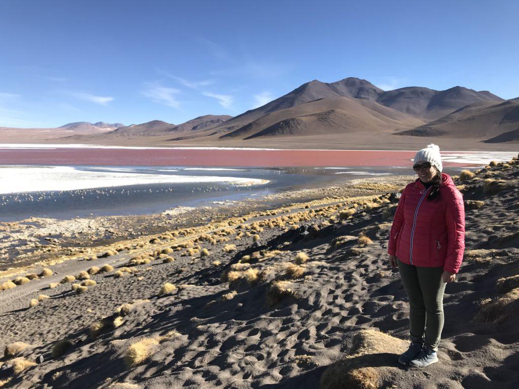 Laguna Colorada Reserva Nacional de Fauna Andina Eduardo Avaroa Uyuni Bolivia South America Vanja Vodenik