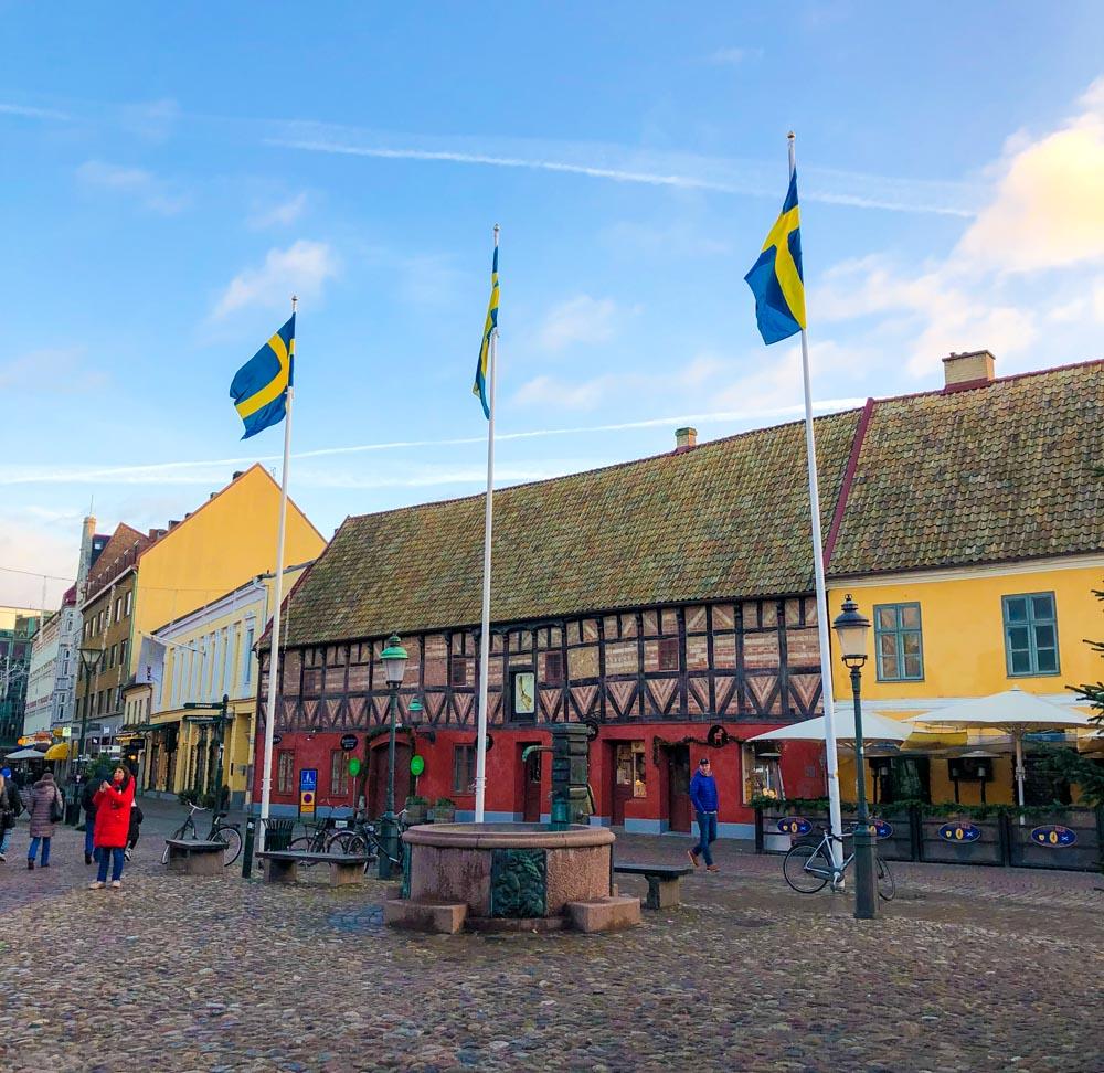 Lilla torg Malmo Sweden Europe