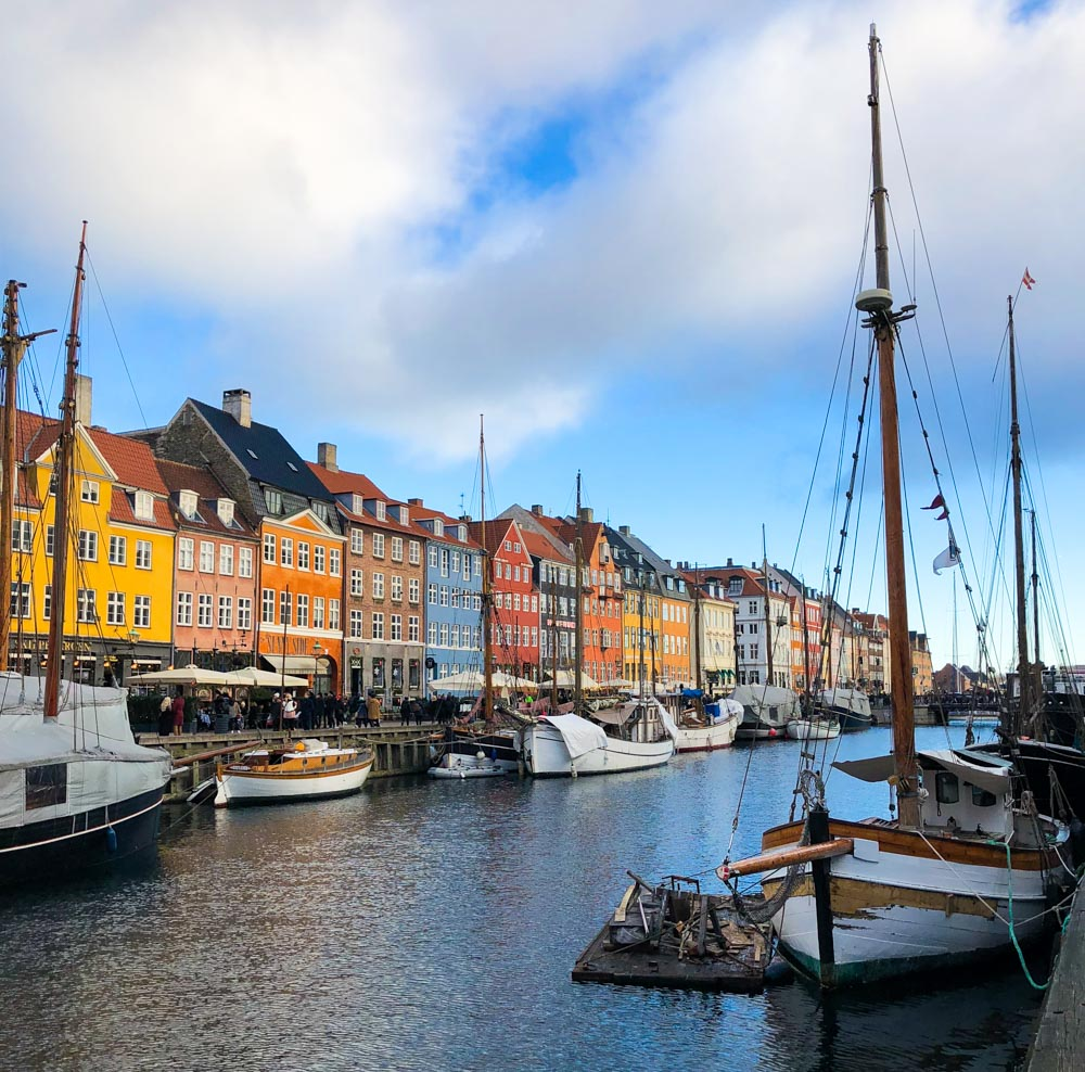 Nyhavn canal Copenhagen Denmark Europe
