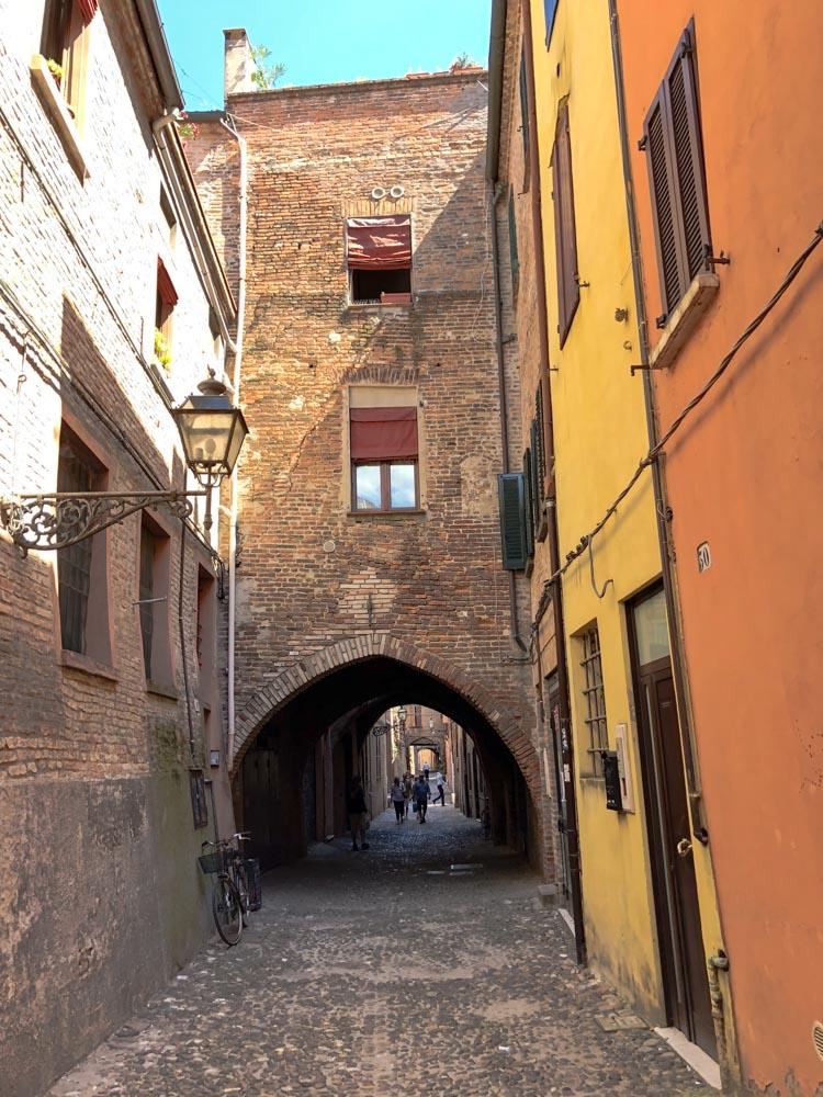 Italy Emilia-Romagna Ferrara Via della Volte