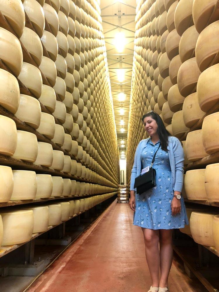 taly Emilia-Romagna Cheese diary 4 Madonne Caseificio dell'Emilia Parmigianlo Reggiano Modena Vanja Vodenik