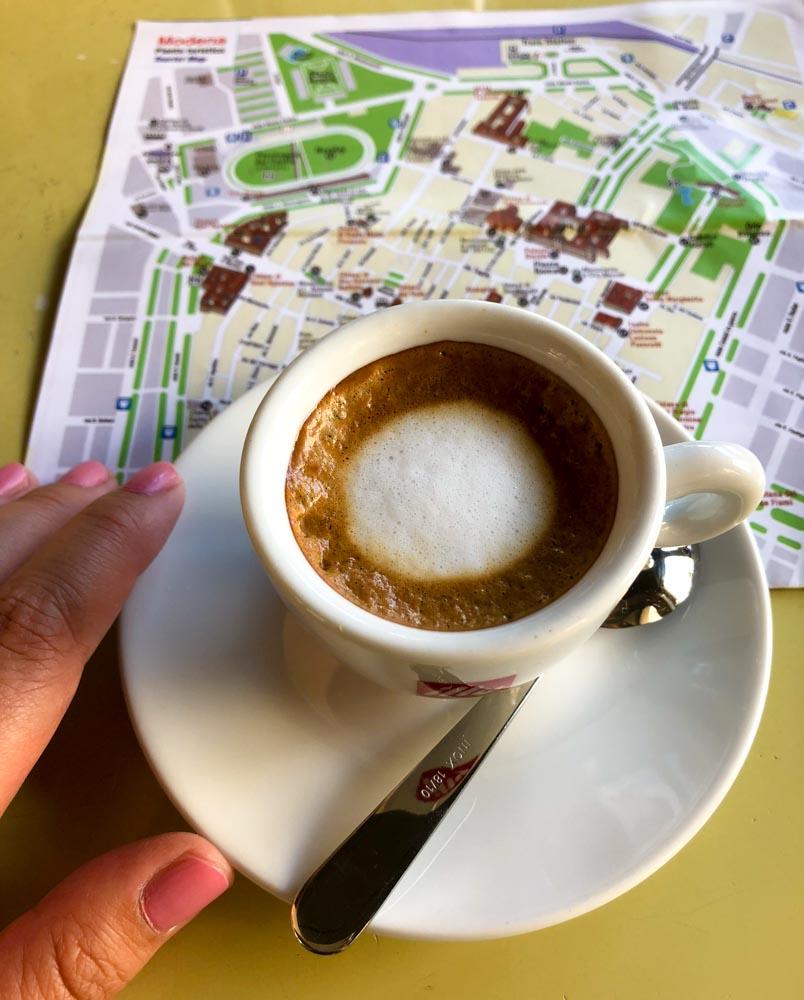 Italy Emilia-Romagna Modena italian coffee