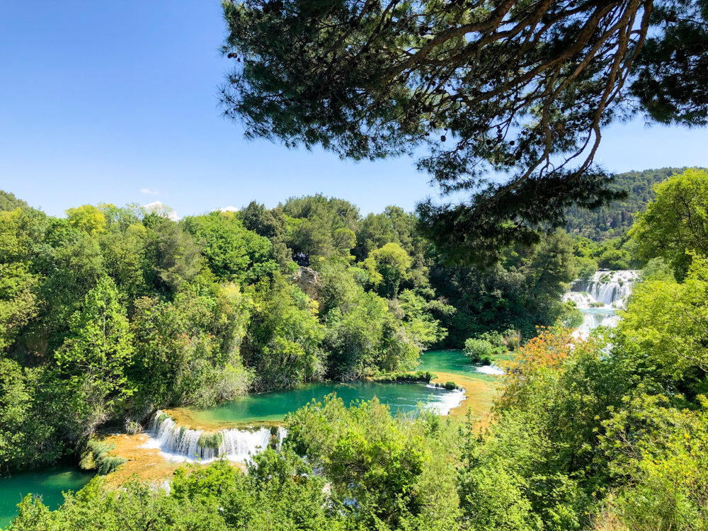 Krka National Park Skradinski Buk Northern Dalmatia Croatia Europe