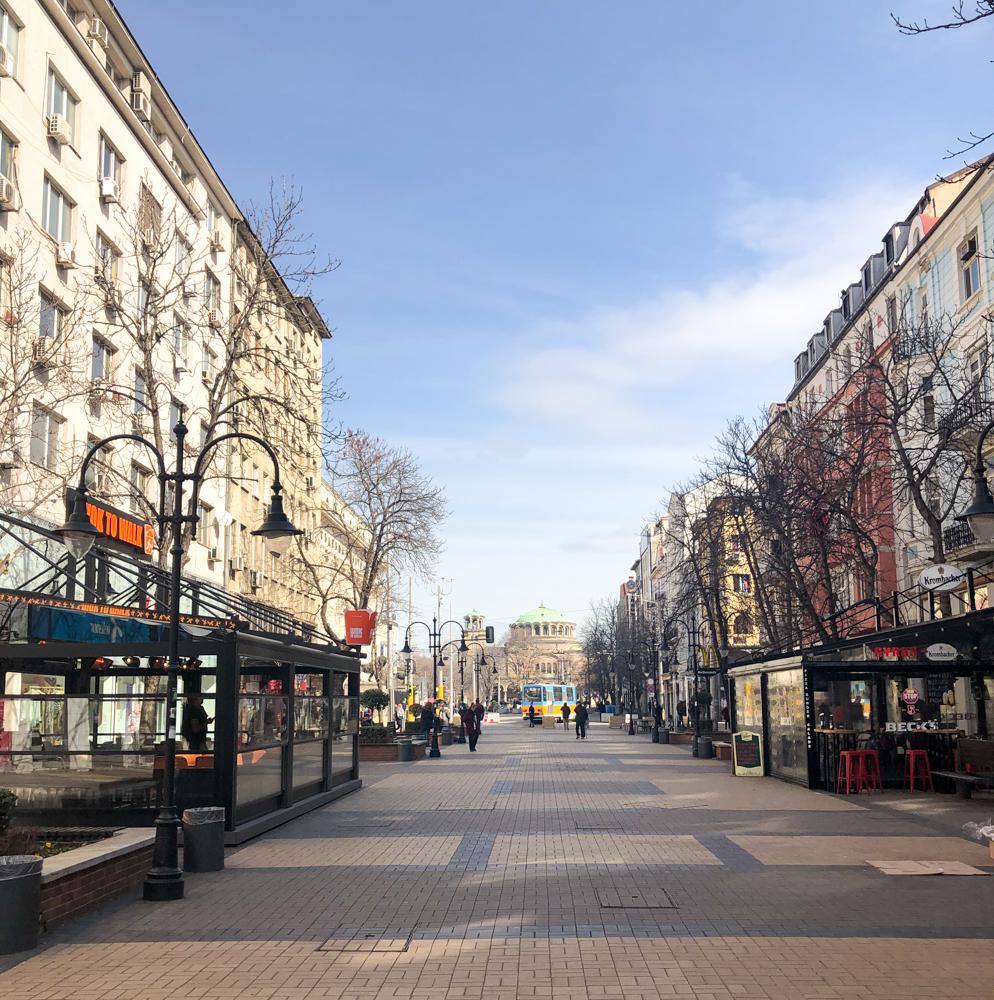Vitosha Boulevard Sofia Bulgaria Europe