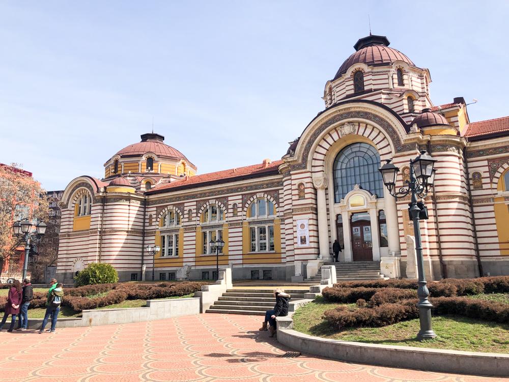 Sofia Central Mineral Baths Bulgaria Europe