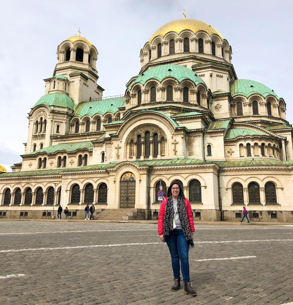 Alexander Nevsky Cathedral Sofia Bulgaria Europe