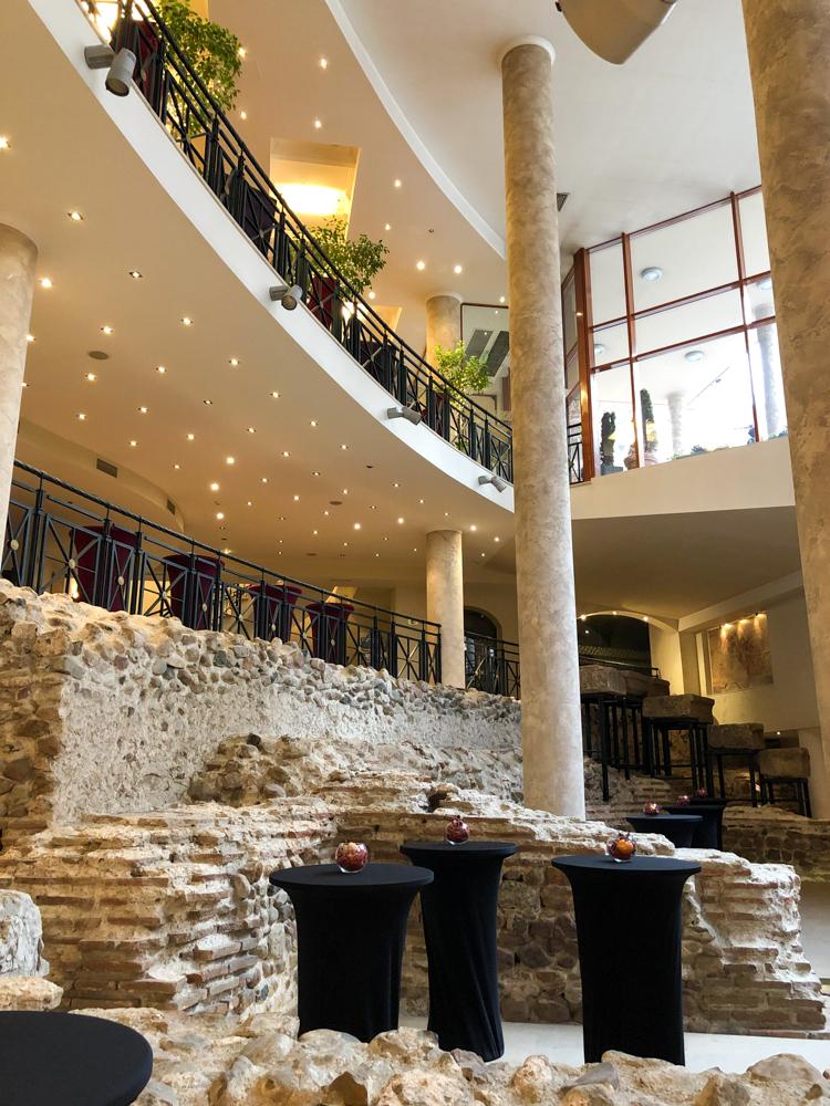 Arena di Serdica Hotel Roman amphitheater Sofia Bulgaria Europe