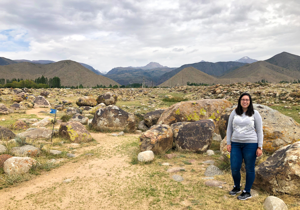 Cholpon-Ata petroglyphs museum Kyrgyzstan Central Asia