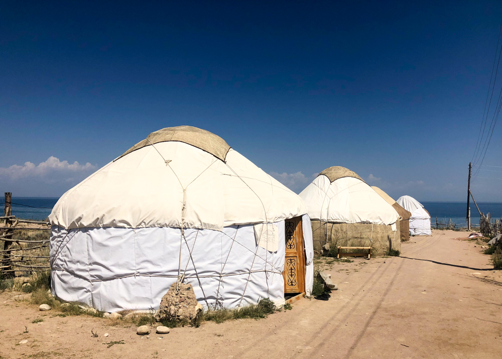 Bel'tam Yurt Camp Issyk-Kul Lake Kyrgyzstan Central Asia