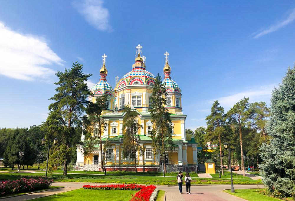 Zenkov's Cathedral Almaty Kazakhstan Central Asia
