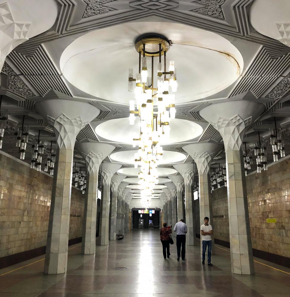Tashkent metro Uzbekistan Central Asia Silk Road