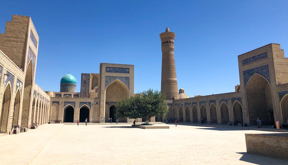 Bukhara Kalayan mosque Uzbekistan Central Asia Silk Road