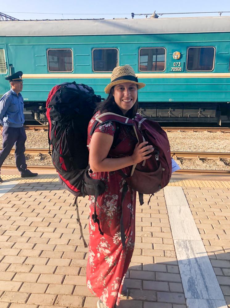 Bukhara Uzbek railways Uzbekistan train Vanja Vodenik Central Asia Silk Road