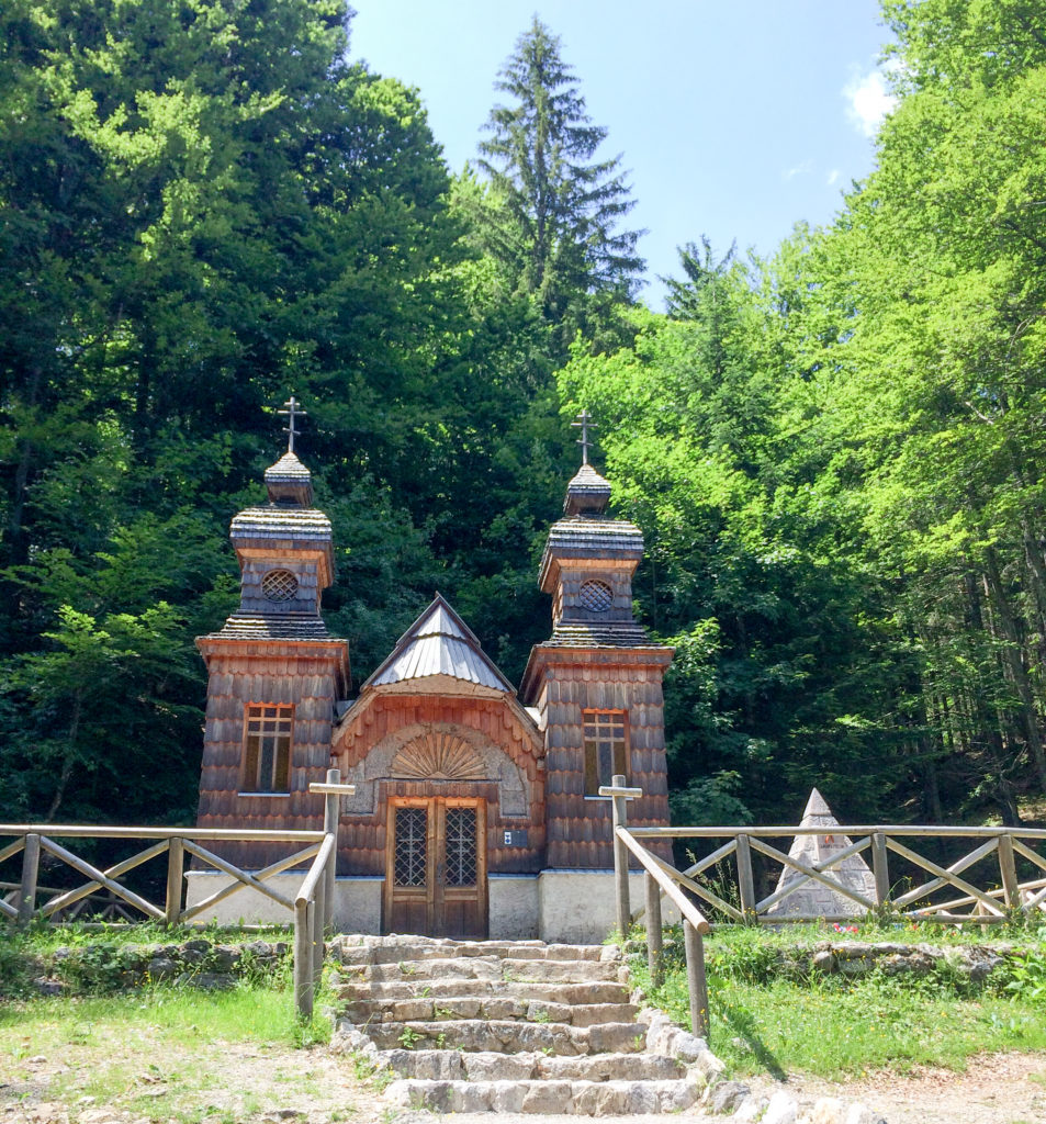 Russian Chapel Vršič Slovenia Europe
