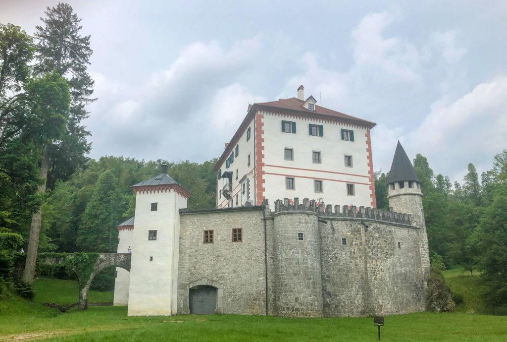 Castle Snežnik Slovenia Europe
