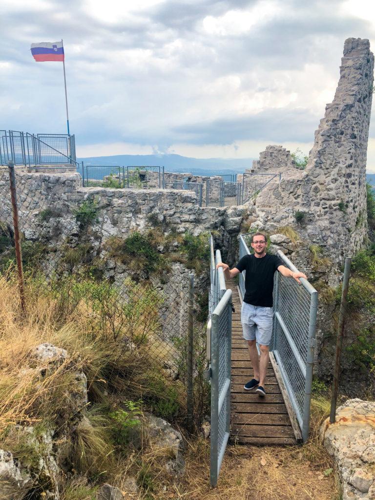 Fortress Črni kal Slovenia Europe