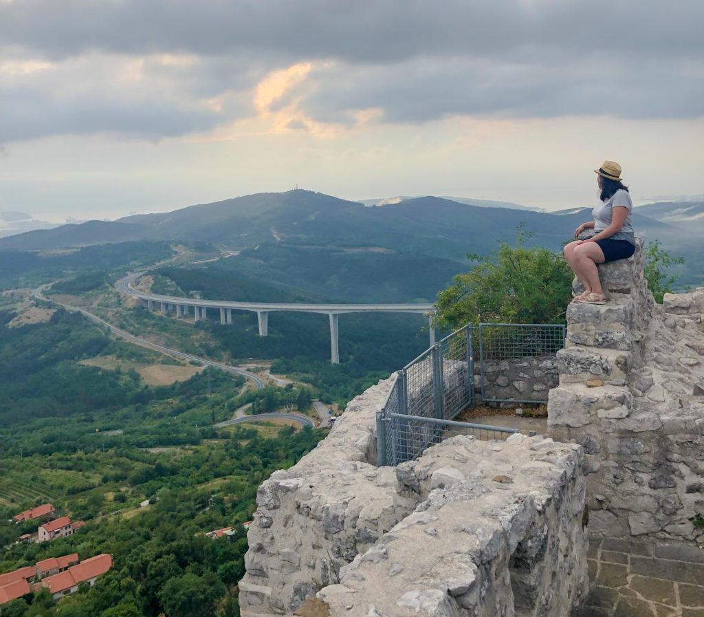Fortress Črni kal Slovenia Europe Vanja Vodenik
