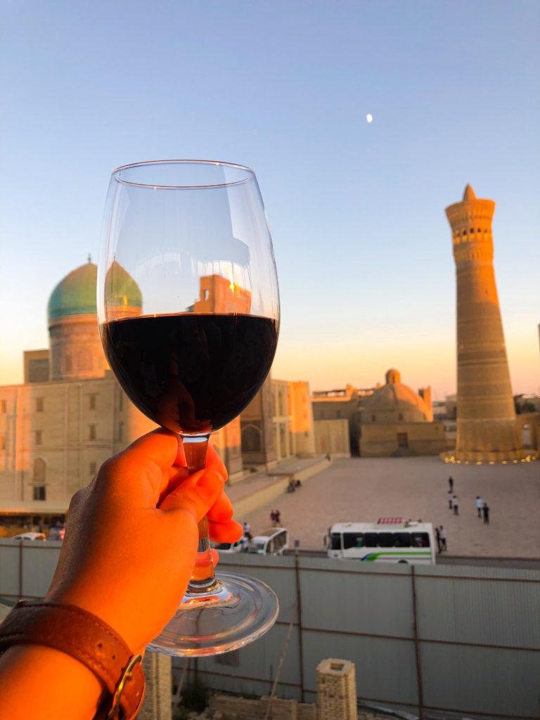 Chasmai-Mirob restaurant Bukhara Uzbekistan Central Asia