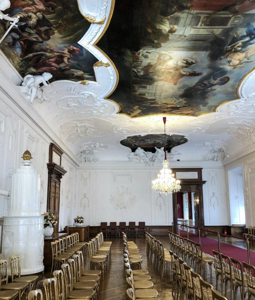 Residenz Palace Salzburg Austria Europe