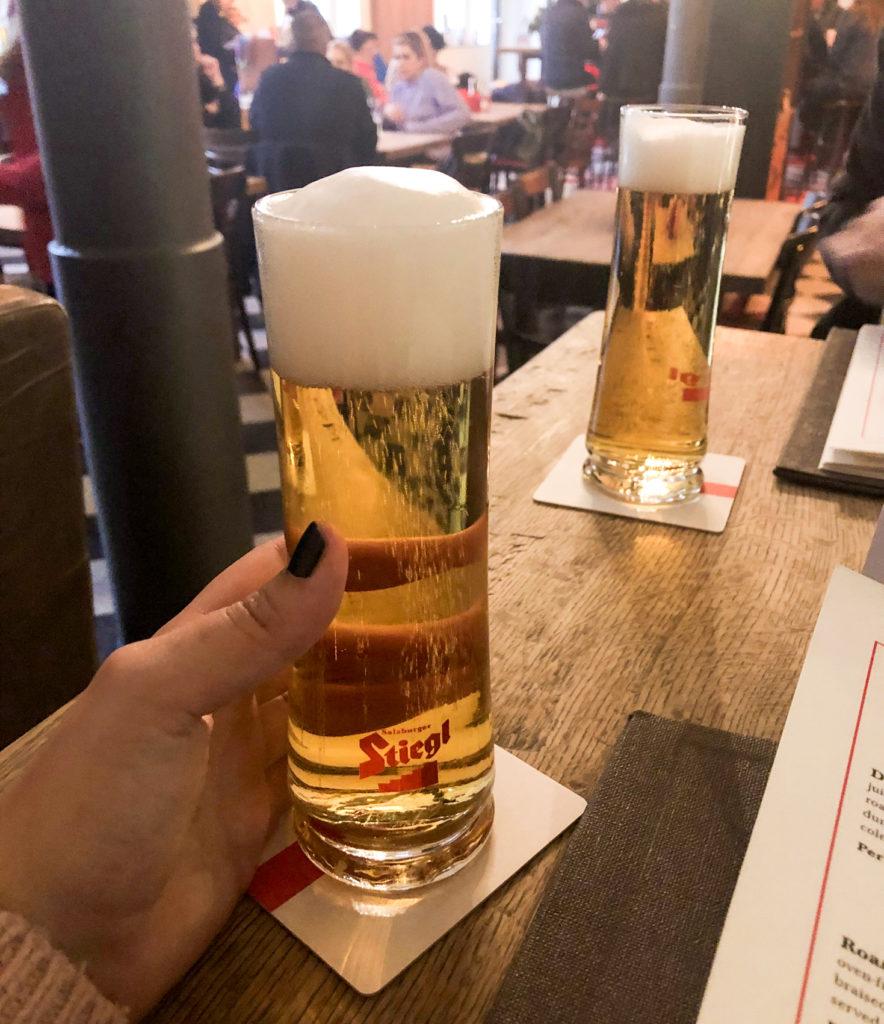 Stiegl beer Salzburg Austria Europe
