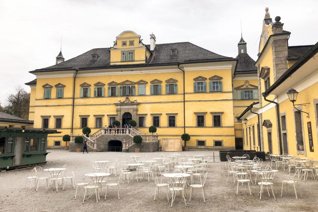 Hellbrunn Palace Salzburg Austria Europe