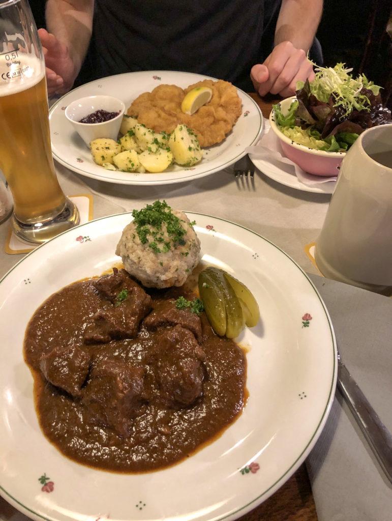 Austrian food Salzburg Austria Europe