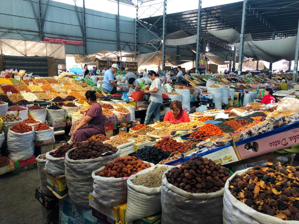 Osh Bazaar Bishkek Kyrgyzstan Central Asia