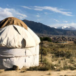 Staying in an idyllic yurt camp on the shore of Issy-Kul lake