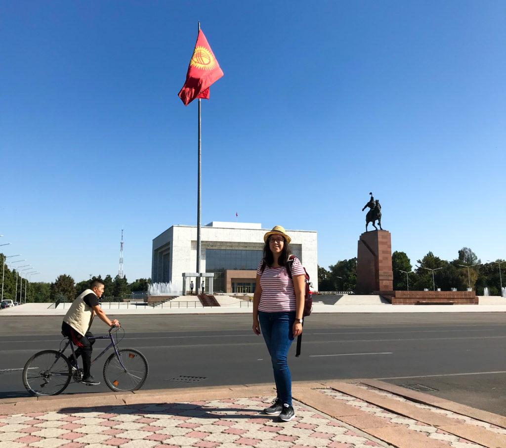 Ala Too Square Bishkek Kyrgyzstan Central Asia Vanja Vodenik