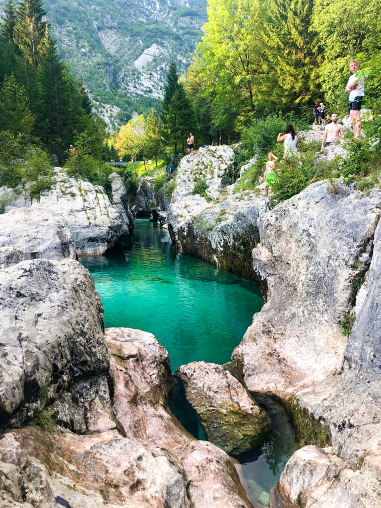 Great Soča gorge Slovenia Europe