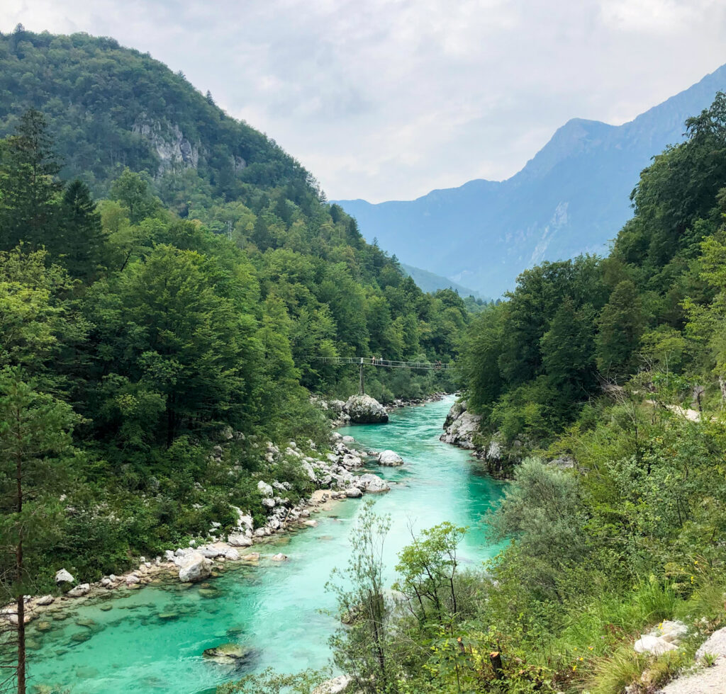Soča river Slovenia Europe