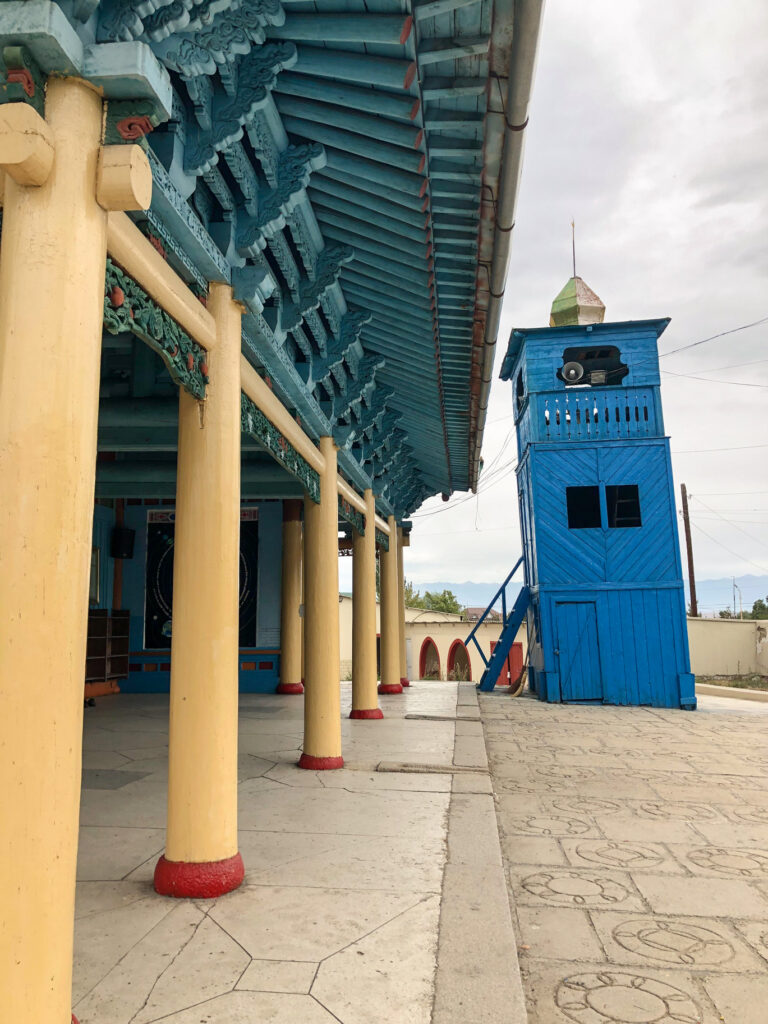 Dungan Mosque Karakol Kyrgyzstan Central Asia