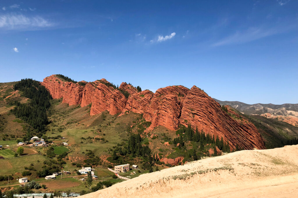 Jeti-Oguz Rocks Karakol Kyrgyzstan Central Asia