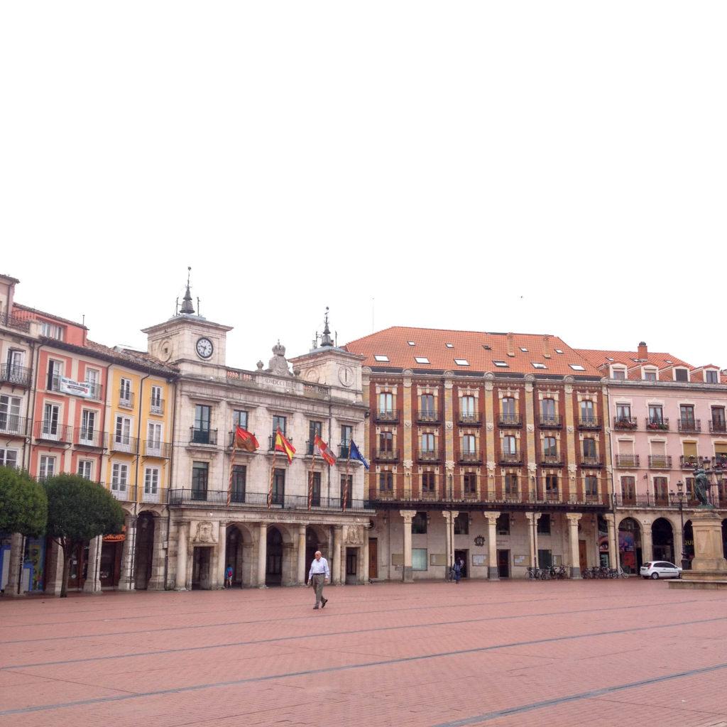Burgos Castile and Leon Spain Plaza Mayor square