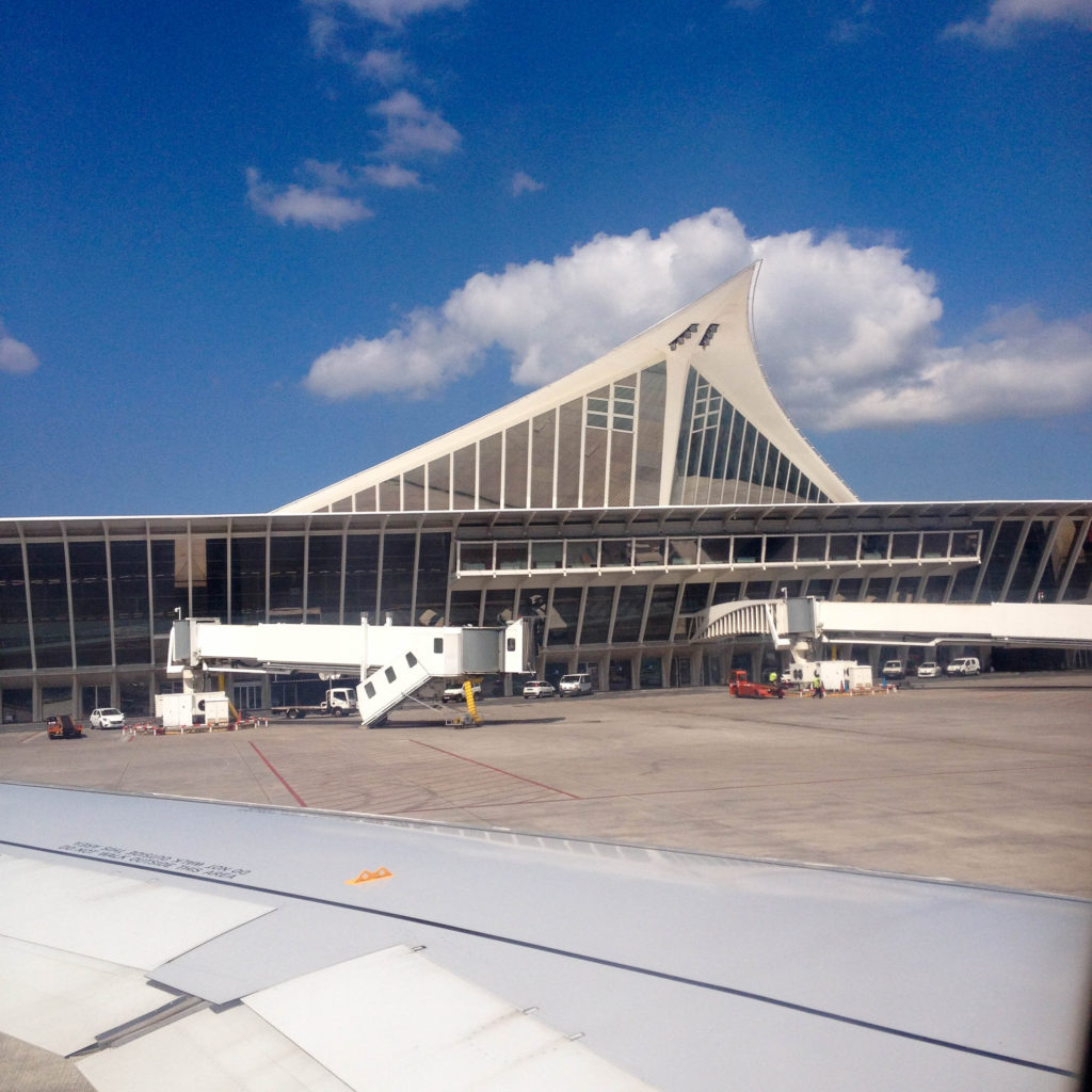 Bilbao airport Spain
