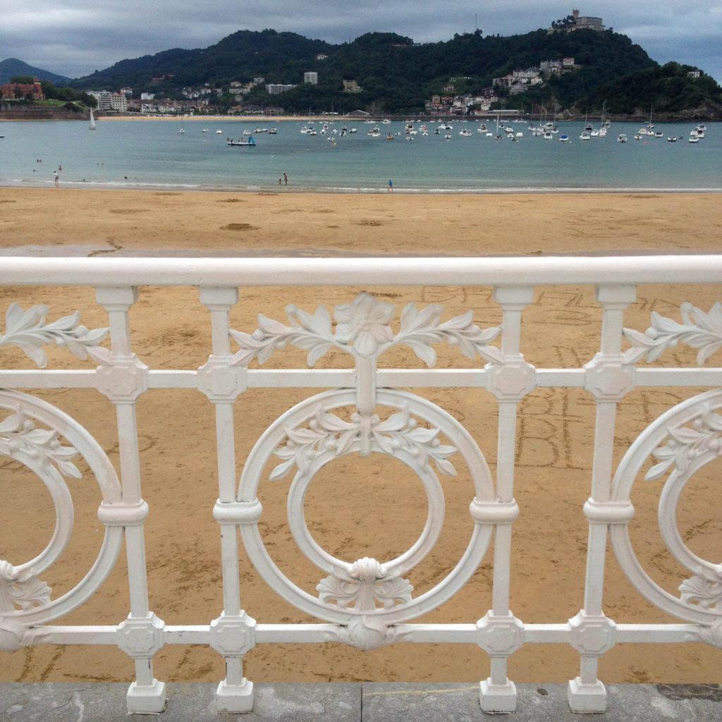 San Sebastian Donostia Basque country Spain beach