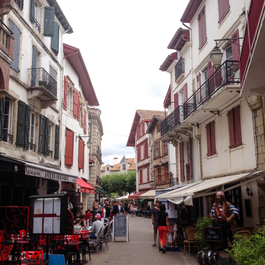 Saint Jean de Luz France Basque country