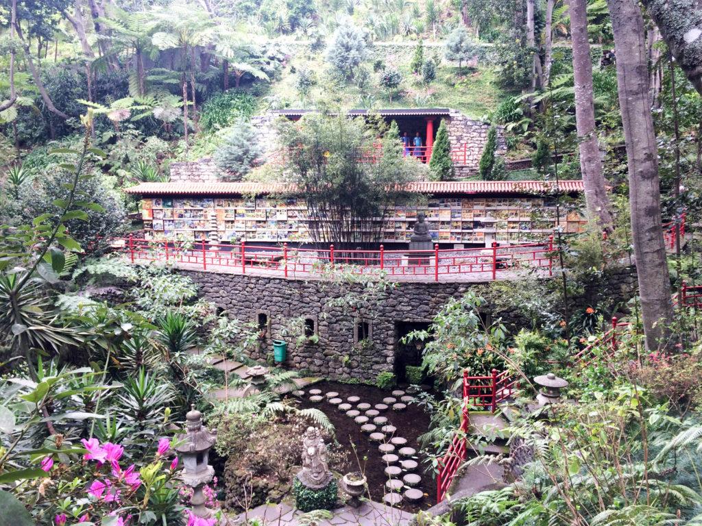 Monte Palace Tropical Gardens Madeira Portugal