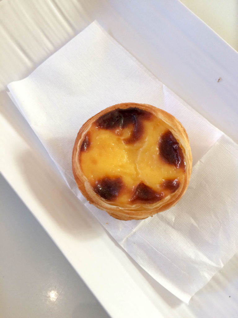 pastel de nata dessert typical food Madeira Portugal
