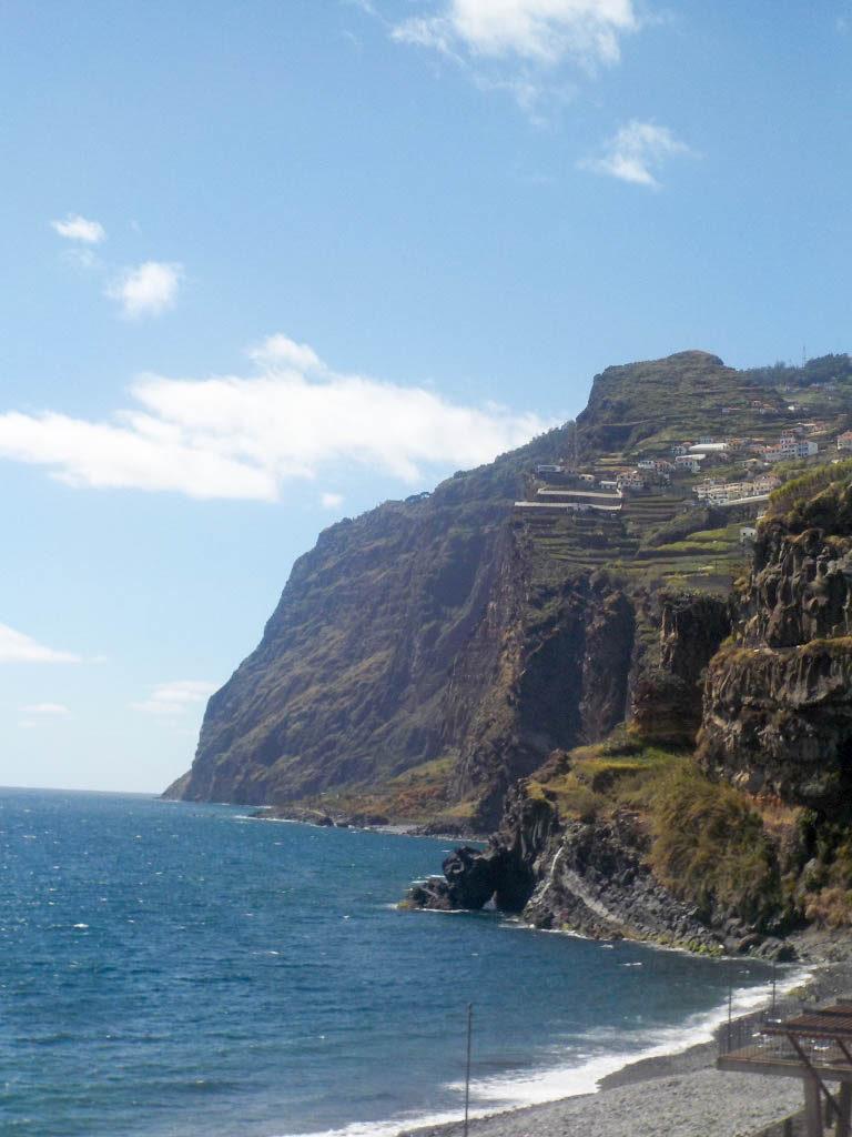 Camara de Lobos fishing village Madeira Portugal view Cabo Girao