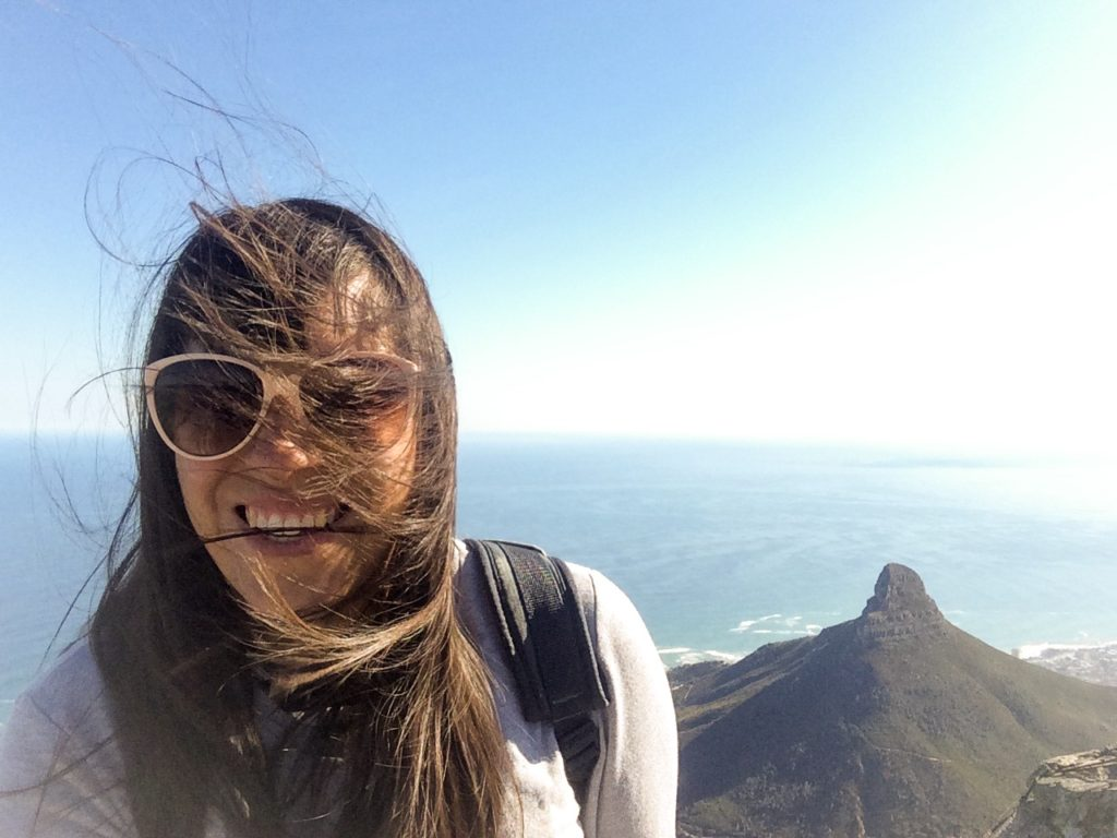 Table Mountain Cape Town South Africa windy Vanja Vodenik
