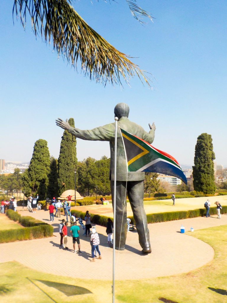 Pretoria Nelson Mandela statute Union Buildings South Africa